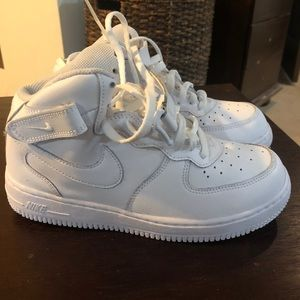 New Size 3 High Top Nike Air Force 1s
